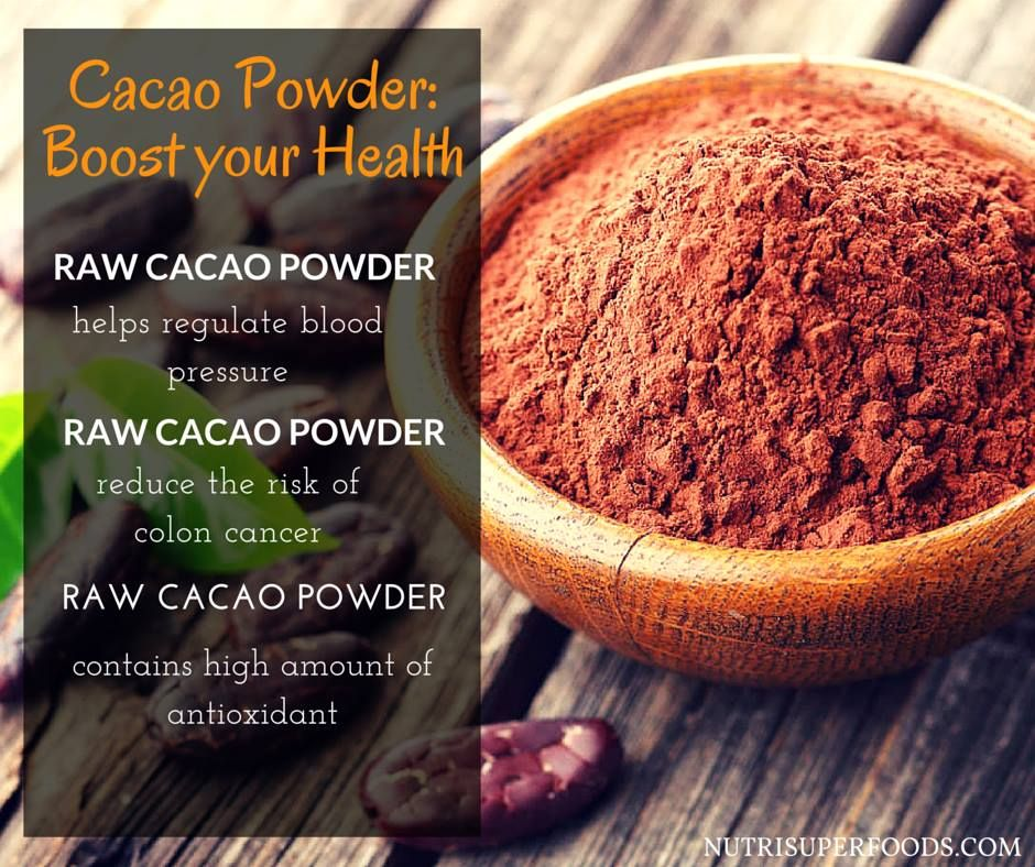 Cacao has been a super food secret that's been revealed more and more lately. Cacao is the essential ingredient of chocolate. It can be purchased as a powder or nibs and mixed into coffee or milk to get the maximum polyphenol flavonoids that offer many health benefits.