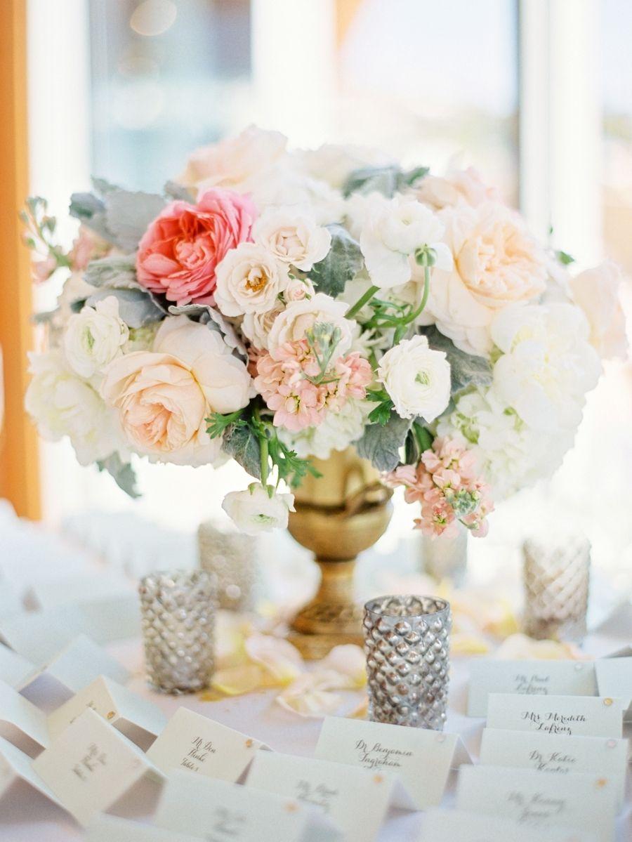 Beach wedding venues in san diego  Elegant San Diego Beach Wedding  Floral designs Vaulting and San