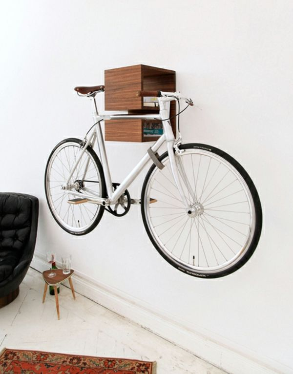 b cherregal fahrradst nder holz sofa tisch bike pinterest fahrradst nder b cherregale. Black Bedroom Furniture Sets. Home Design Ideas