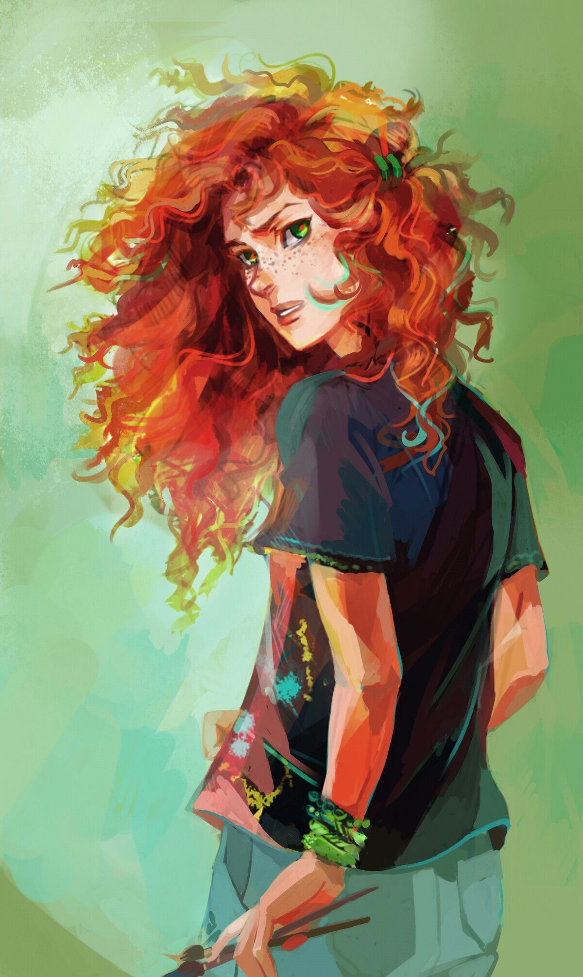 Rachel Elizabeth Dare. Artwork by Viktoria Ridzel/Viria for Rick ...