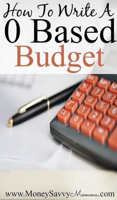 How To Write Make A 0 Based Budget Budgeting Mortgage Payment