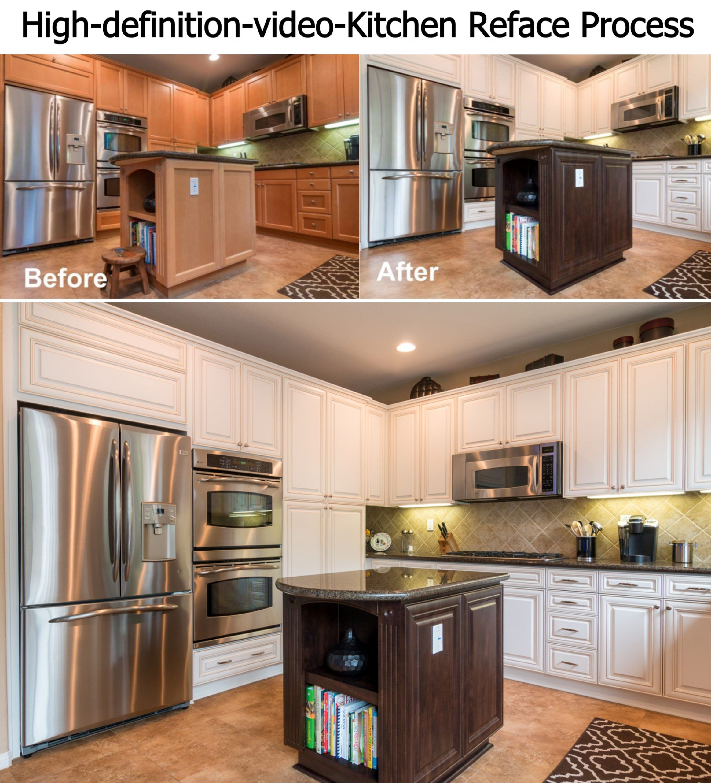 Reface Your Kitchen In As Little As 3 Days. Watch This