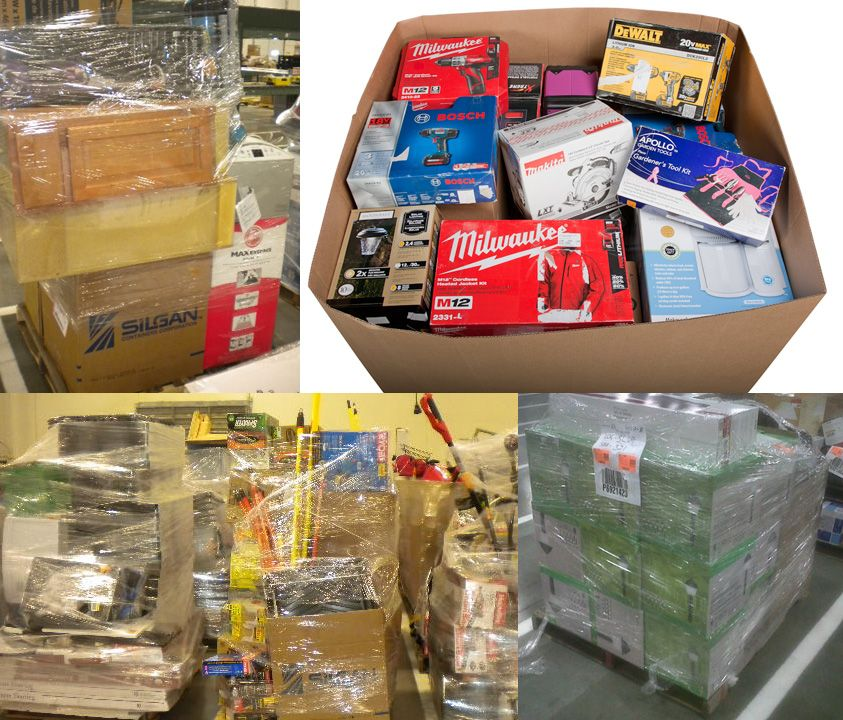 HD.com Home Depot Tools Hardware Pallet Loads Wholesale