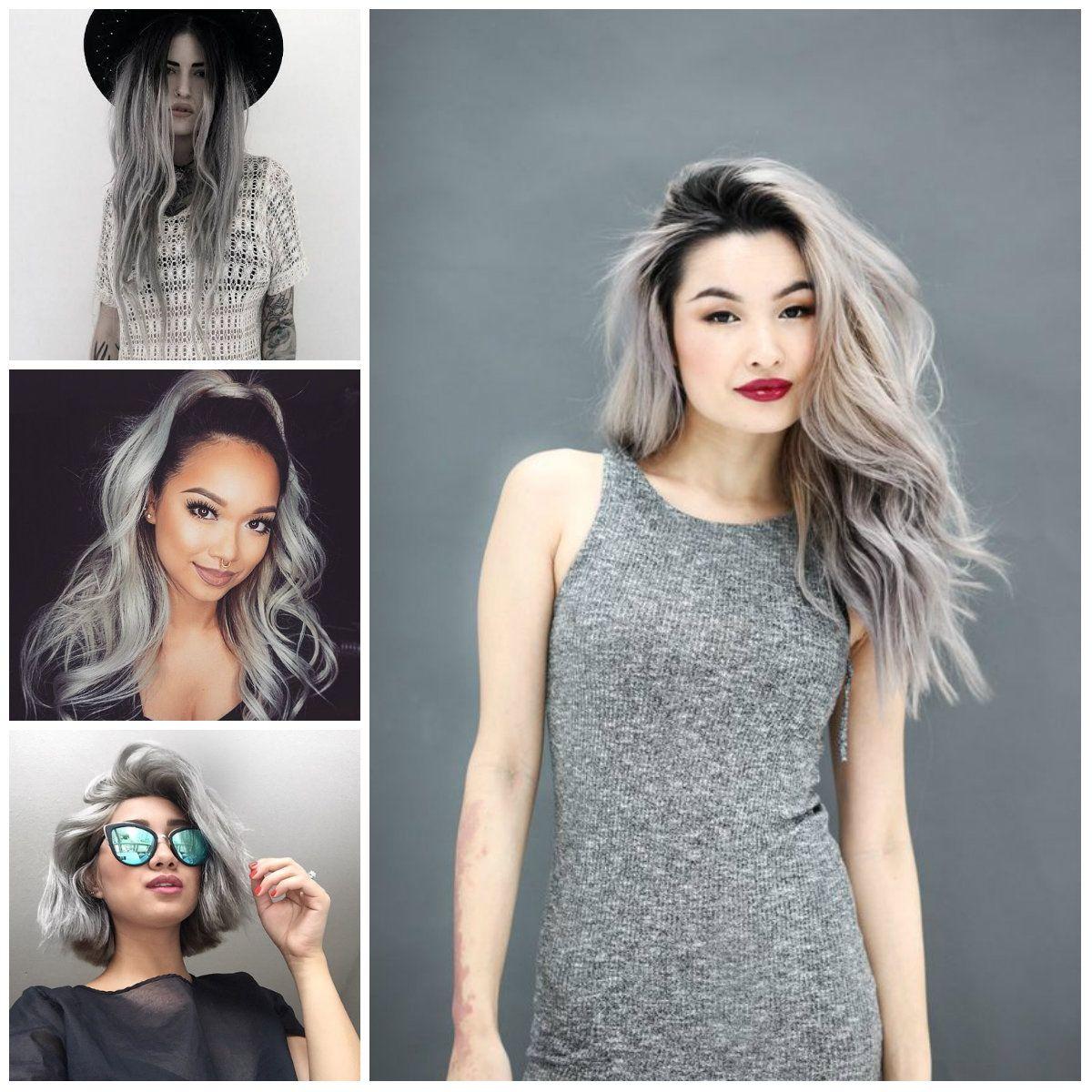 Grey Hair Colors 2017  Hair  Pinterest  Hair Color 2017 Hair Coloring And
