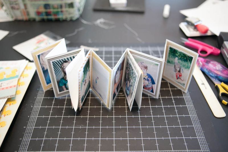 Accordion Book Tutorial Accordion Book Mini Photo Books