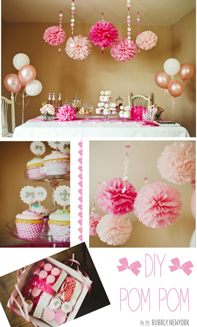 Bubbly New York Party Decoration Diy Table Decorations - Diy-decoracion-cumpleaos