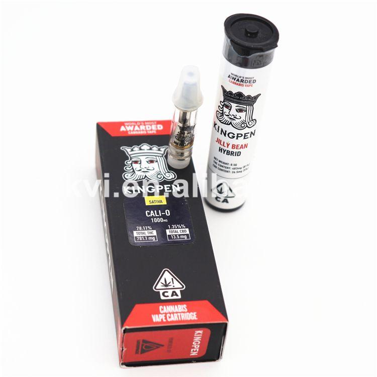 Wholesale King pen cartridge  hole size: 2*1 2/1 5mm | CBD