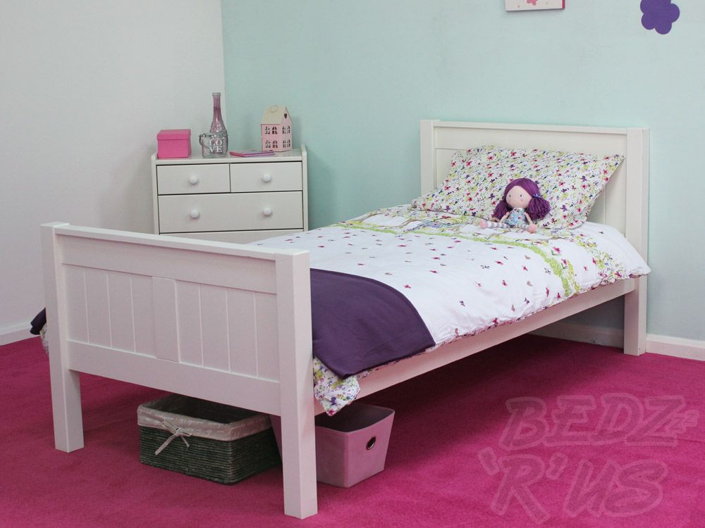 final choice here stompa classic kids white single bed. Black Bedroom Furniture Sets. Home Design Ideas