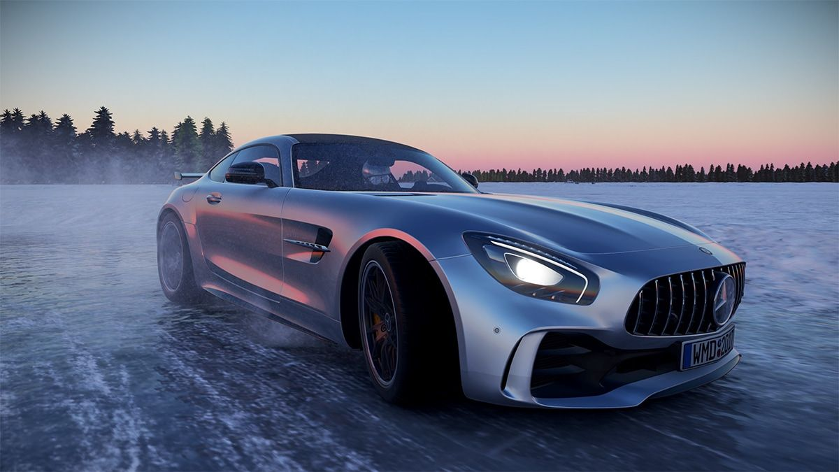Project Cars 2 Will Utilize Ps4 Pro And Project Scorpio Smart Car Mercedes Benz Car Experience