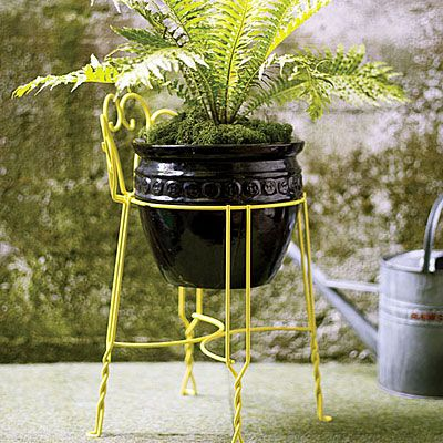 stool > plant stand