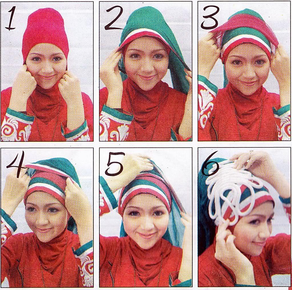 Inilah Tips Mudah Cara Memakai Hijab Segi Empat Terbaru Untuk Anda