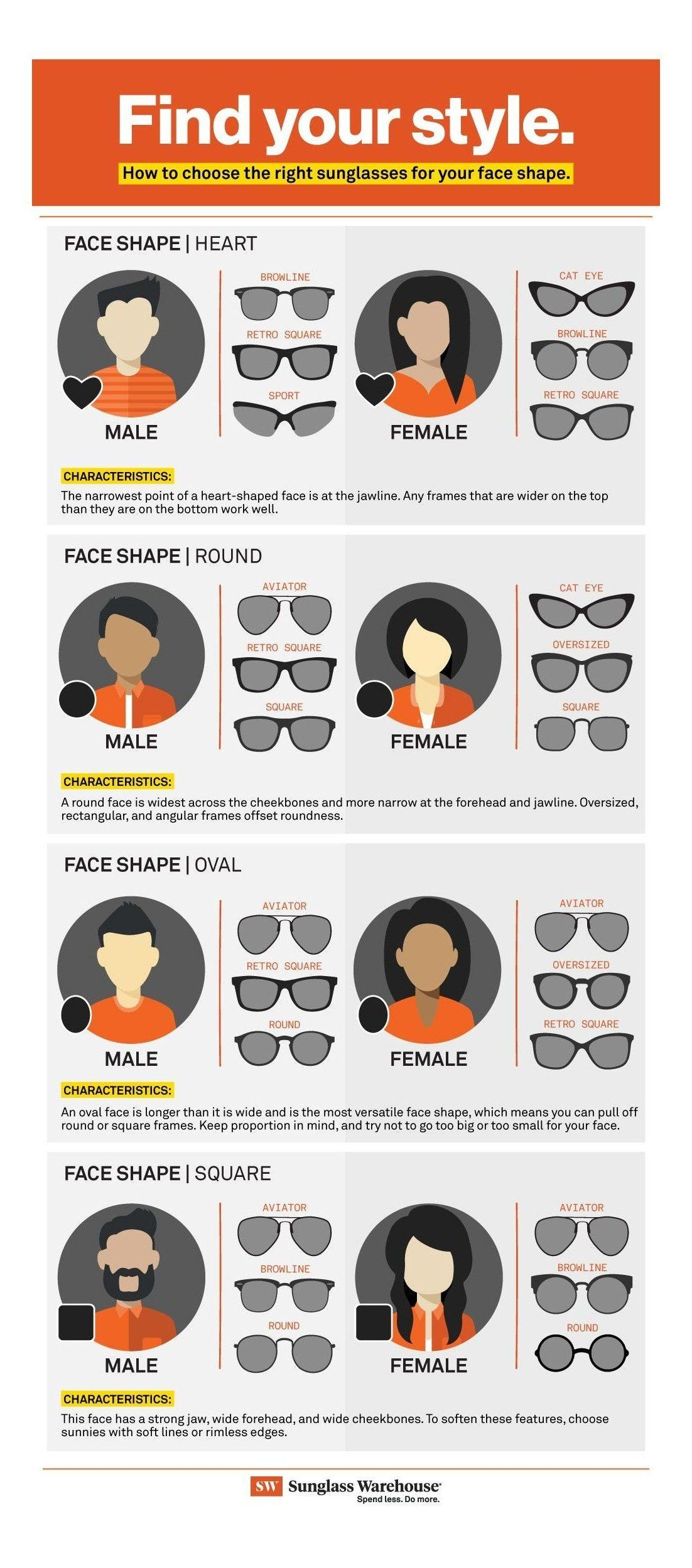Pin By Samaral7rbi On أشكال الوجه Face Shape Sunglasses Glasses For Your Face Shape Womens Sunglasses Face Shape