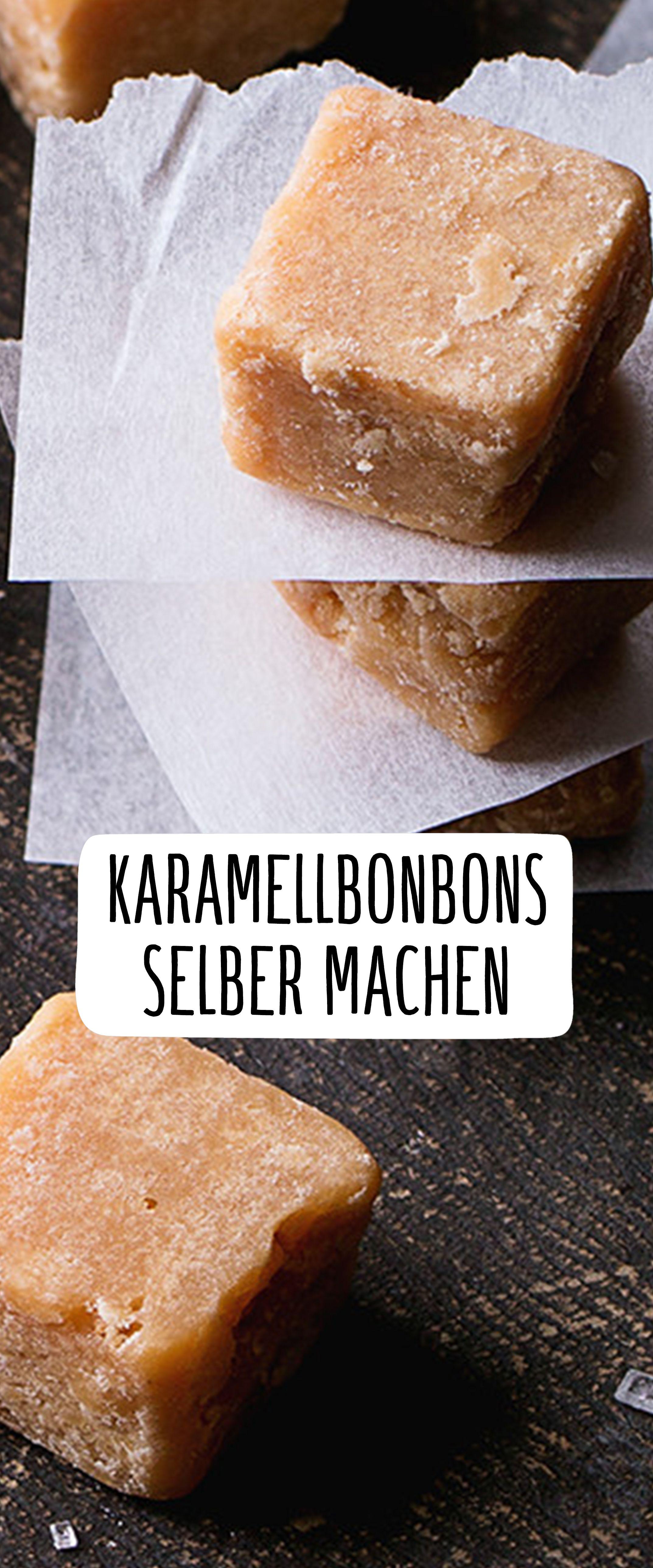 Die zergehen auf der Zunge Karamellbonbons ganz leicht selber ...