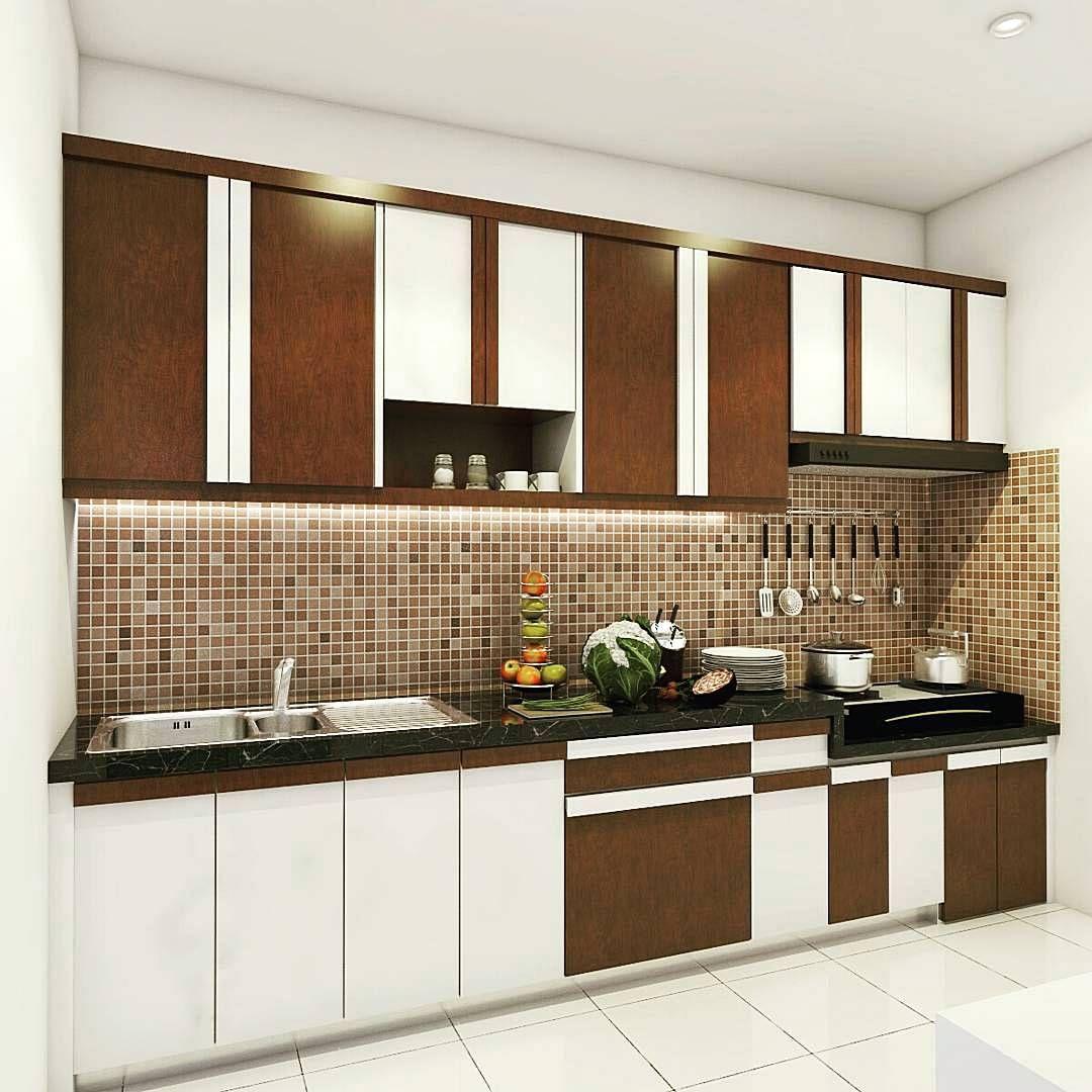 Kitchen set minimalis modern sederhana design interior pinterest