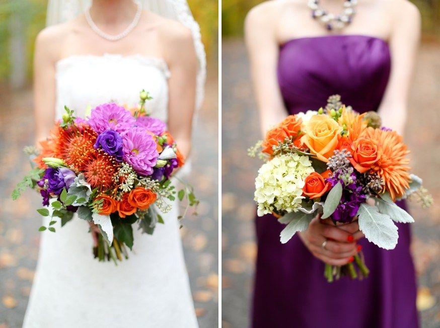 Pin by Joan Matthews on Fall Wedding Flowers for Purple theme ...