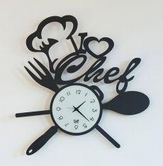 Orologi originali per cucina: modello I LOVE CHEF   OROLOGI ...