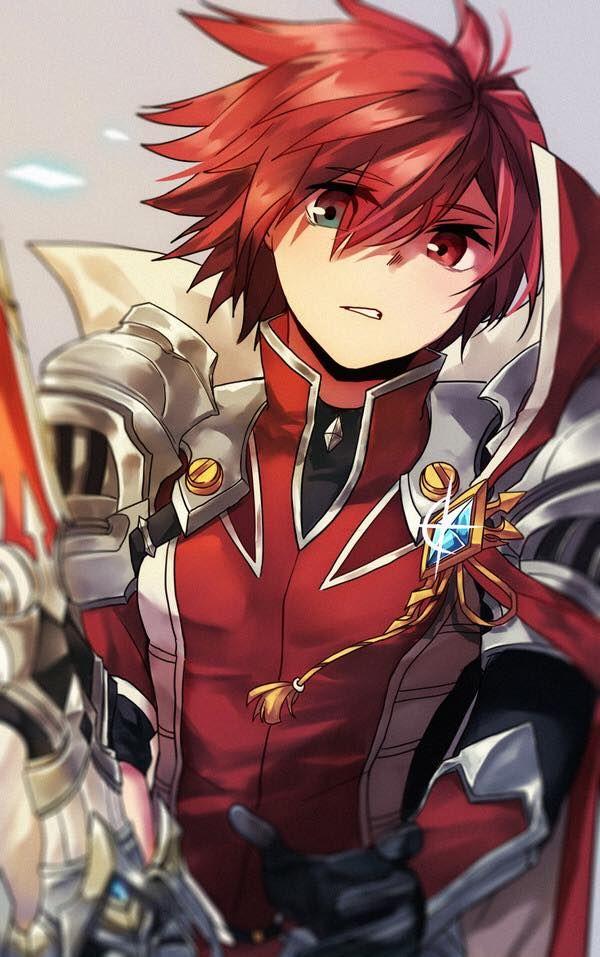 Knight Emperor Elsword Elsword Anime Cute Anime Guys