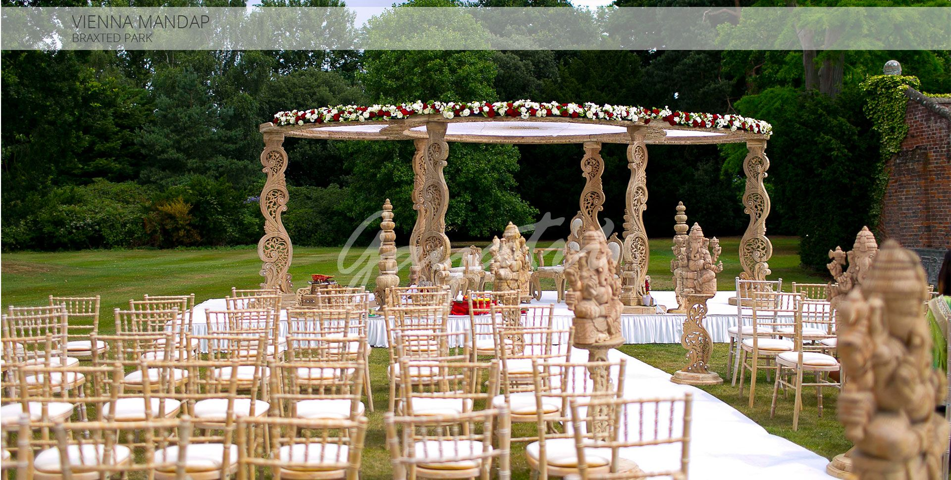Wedding mandap decoration images  Gayatri Weddings and Events have a team of creative and competent