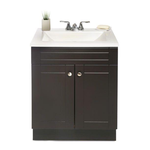 Gabinete de ba o naples espresso ideas para and house for Gabinete para lavabo