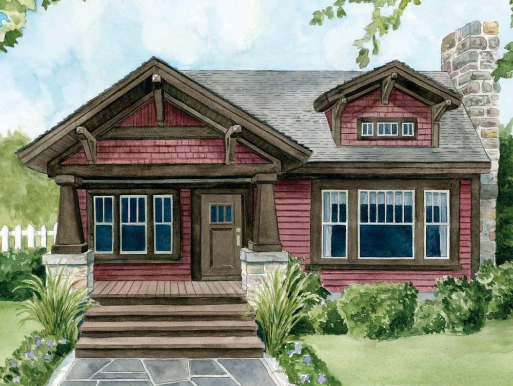 Craftsman house plans craftsman style house floor plans Small craftsman style homes