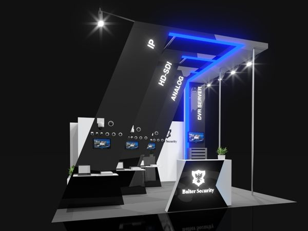 Exhibition Booth Behance : Balter security exhibition stand on behance