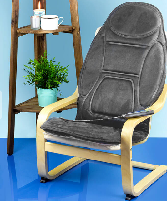 this heated massage pad for your chair  world market