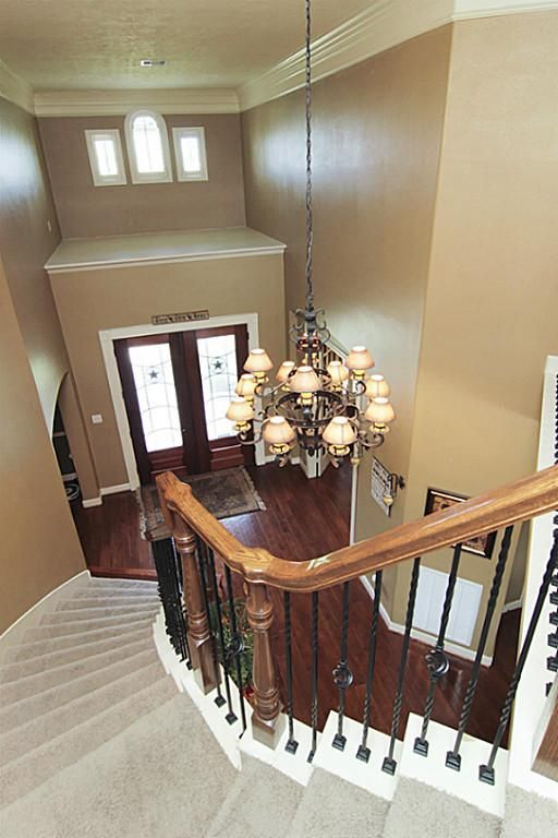Best Wrought Iron Banisters And Spiral Staircase Home 640 x 480