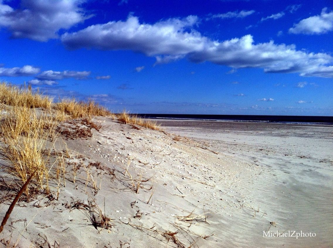 Dune shot looking out into the ocean.. Avalon/Stone Harbor, NJ