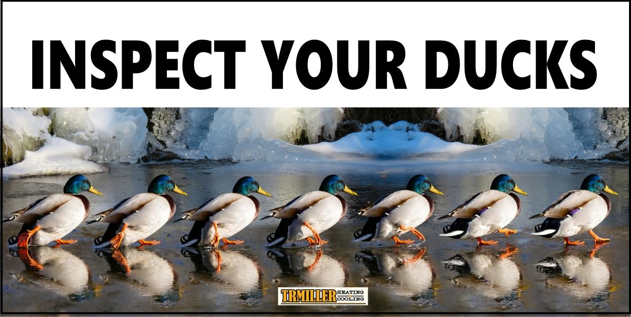Not Your Ducks Your Ducts Leaks In Your Air Ducts Can Make Your