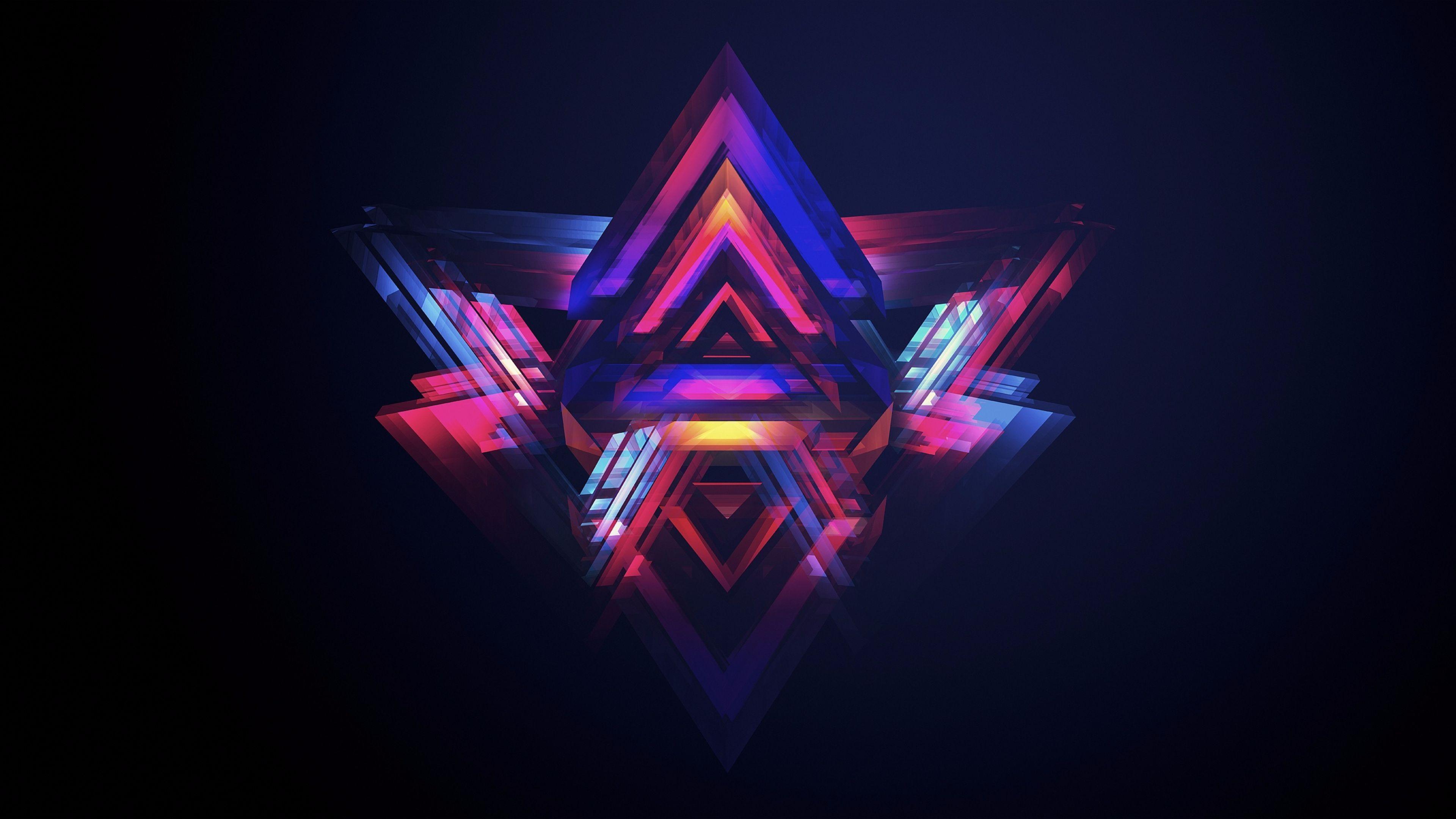 ColorfulPyramidAbstract4KWallpaper.jpg (3840×2160
