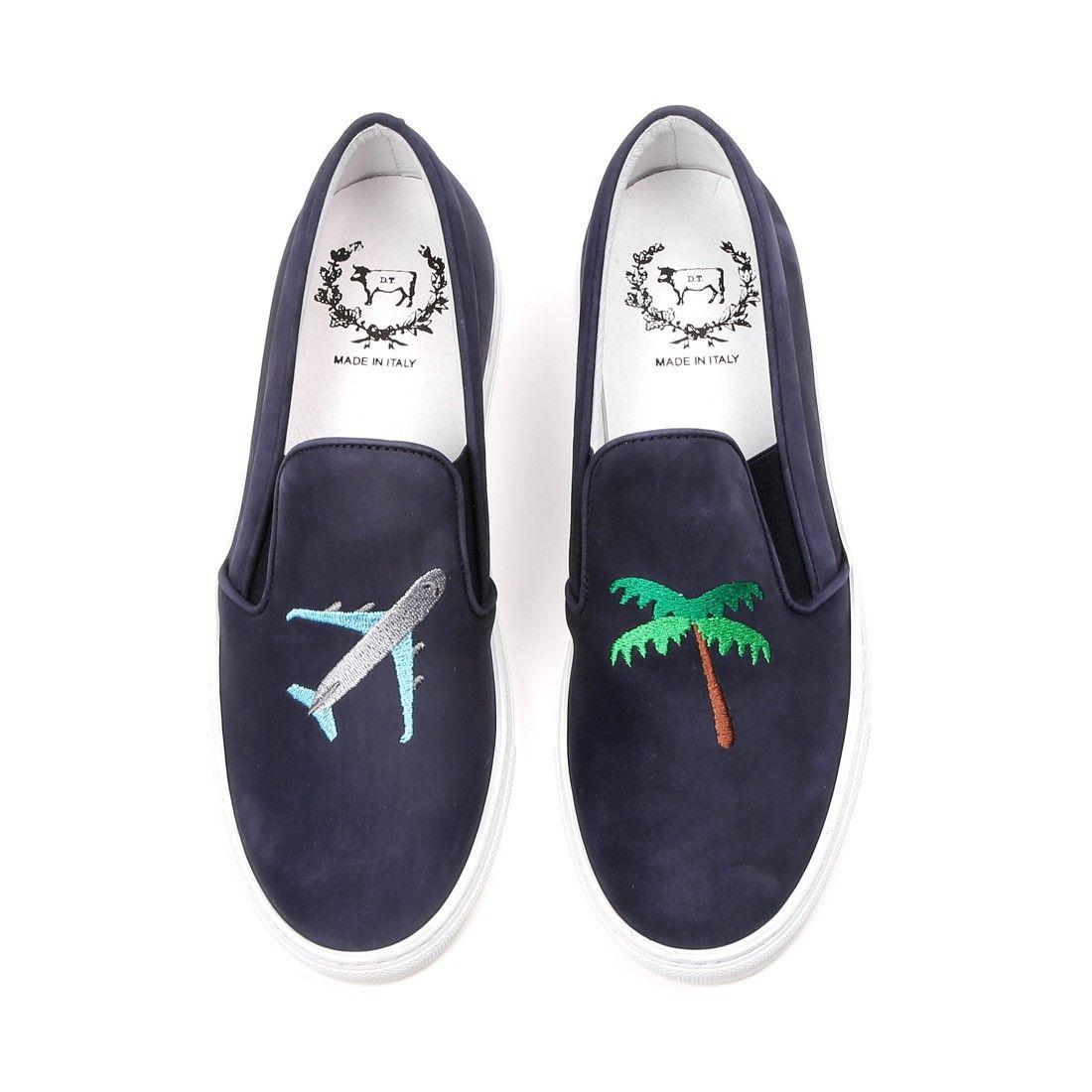 Women S Jetsetter Navy Nabuk Slip On Sneaker Slip On Sneaker Womens Sneakers Dress Shoes Men [ 1100 x 1100 Pixel ]