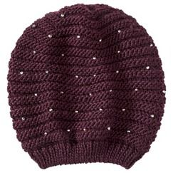 Mossimo® Beaded Beanie Hat - Red 33fedcc992e