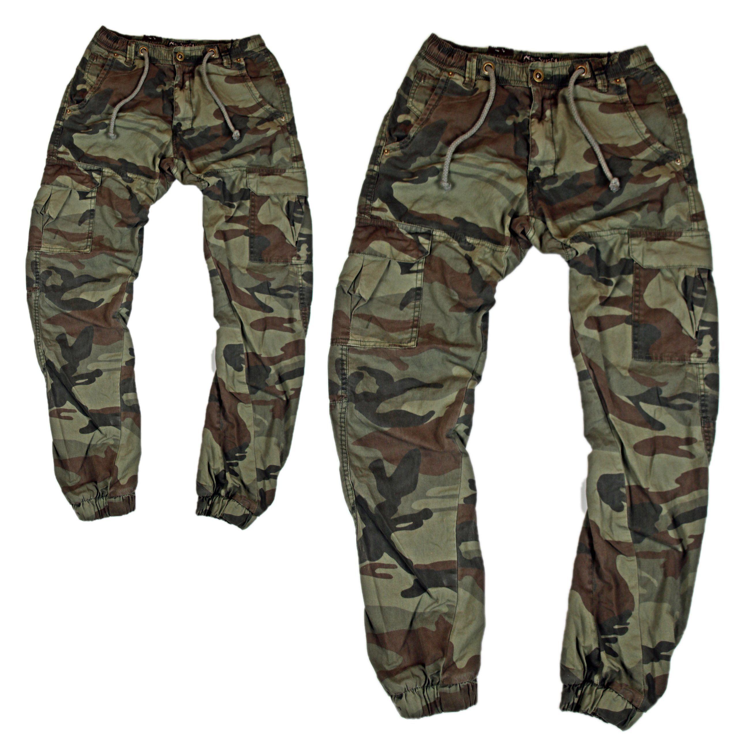 Spodnie Meskie Moro Joggery Bojowki Moro Hit 30 7232958721 Oficjalne Archiwum Allegro Cargo Shorts Fashion Parachute Pants