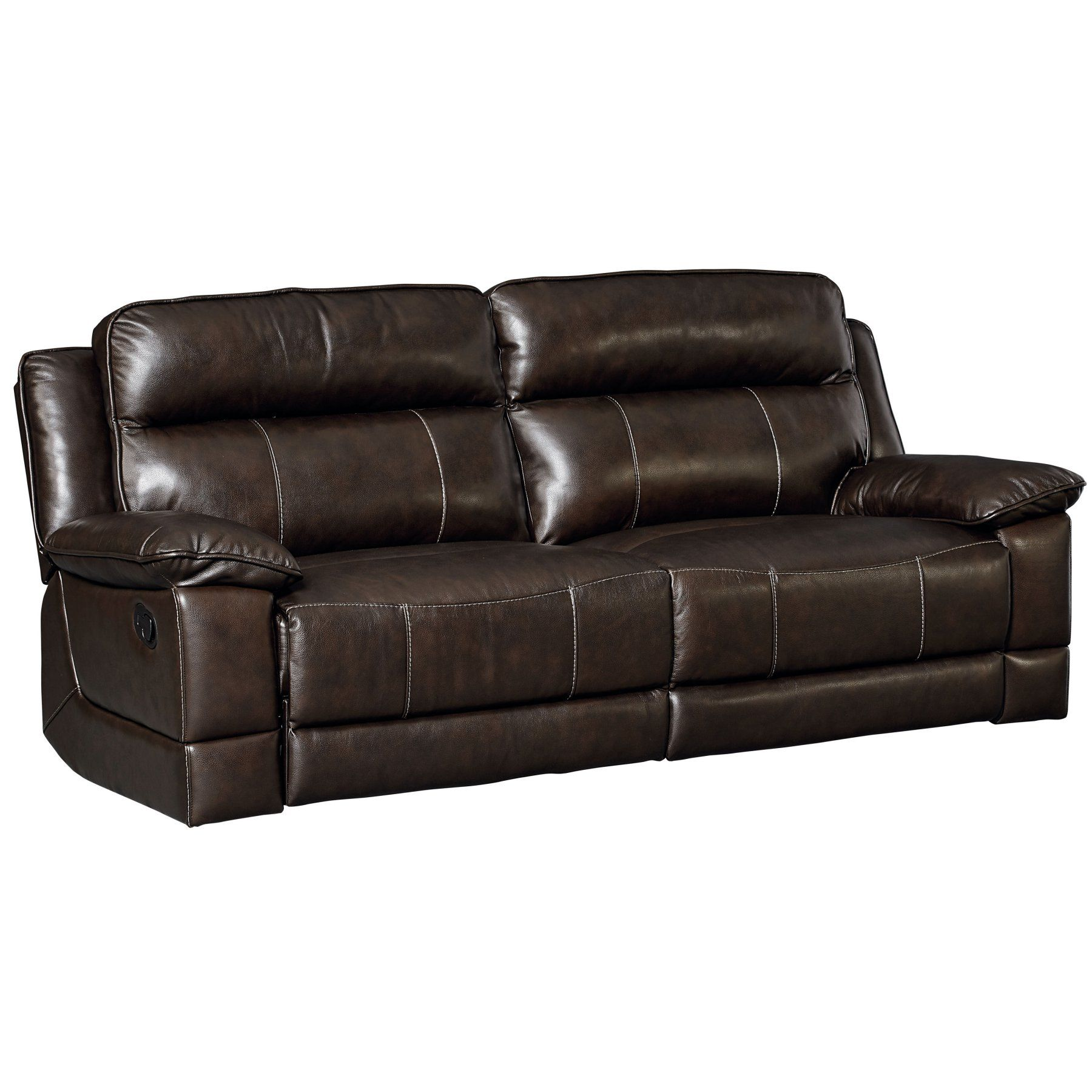 Standard Furniture Sequoia Manual Motion Sofa In Leather 4076392