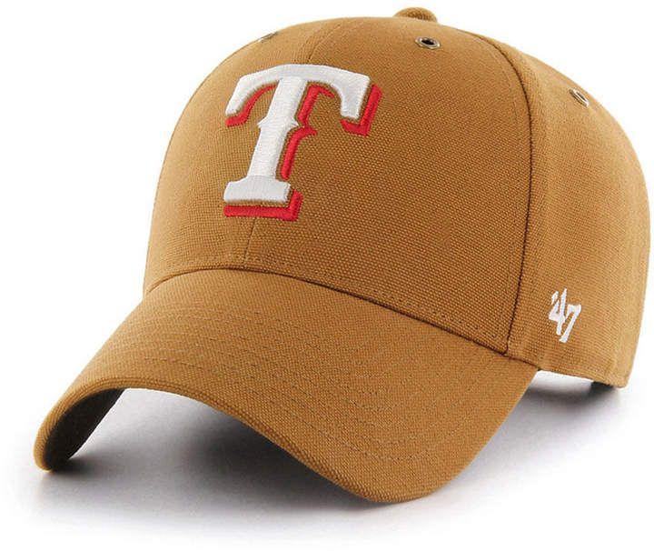 low priced c6b16 20f02  47 Texas Rangers Carhartt Mvp Cap