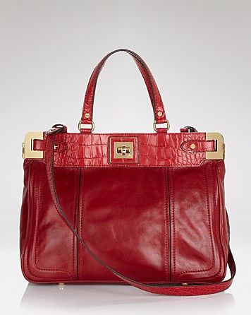 Milly Tote - Amelia - Jewel Tones - Accessories Trends - Fall Style Guide: It's On - LOOKBOOKS - Fashion Index - Bloomingdale's