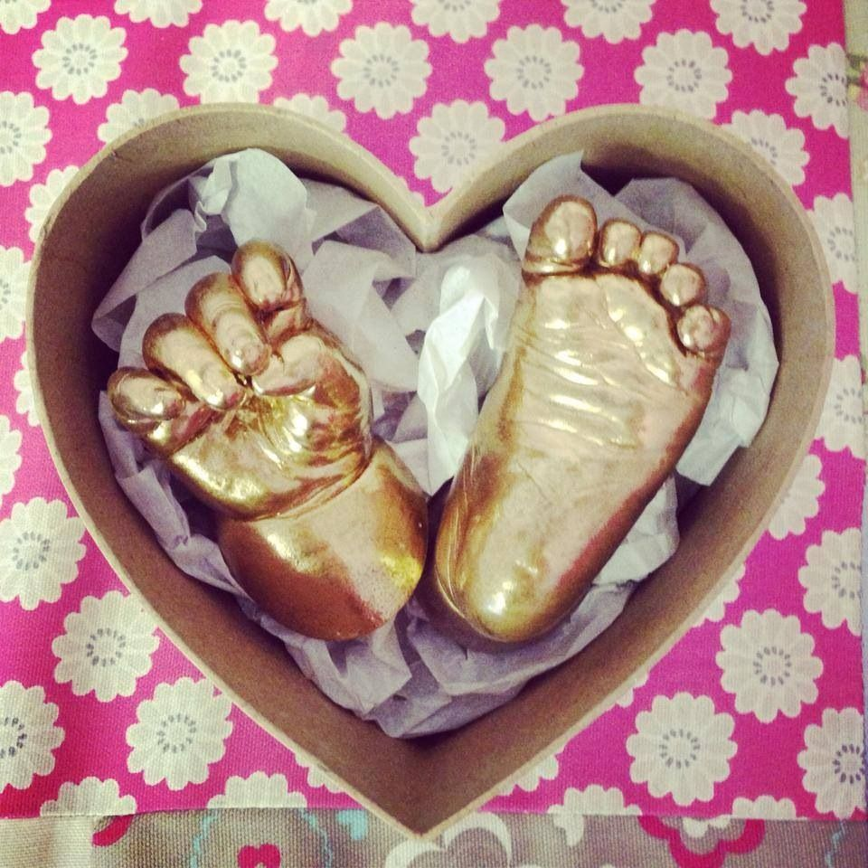 3d Baby Hand And Foot Cast Baby Cast Baby Hands