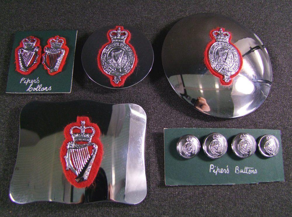 Rare set of Royal Ulster Constabulary Pipers badges, £475