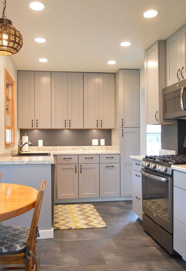 Kitchen Remodel With Gray Cabinets Kitchen Ideas Kitchen And - Kitchen designs with gray cabinets