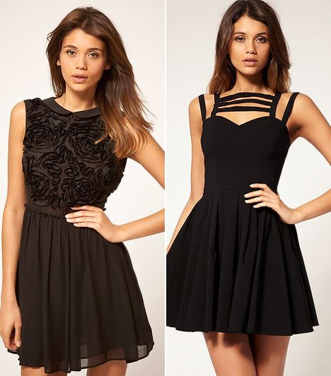 bc9873d14e Karcsúsító kis fekete ruhák | femina.hu | KIS FEKETE RUHA/little ...