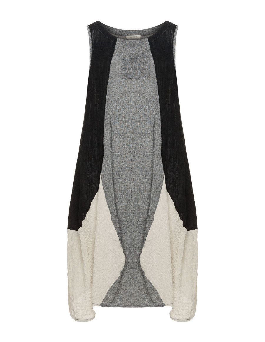 63379fc76a9 ... plus size fashion. LUUKAA - Linen blend A-line dress - navabi