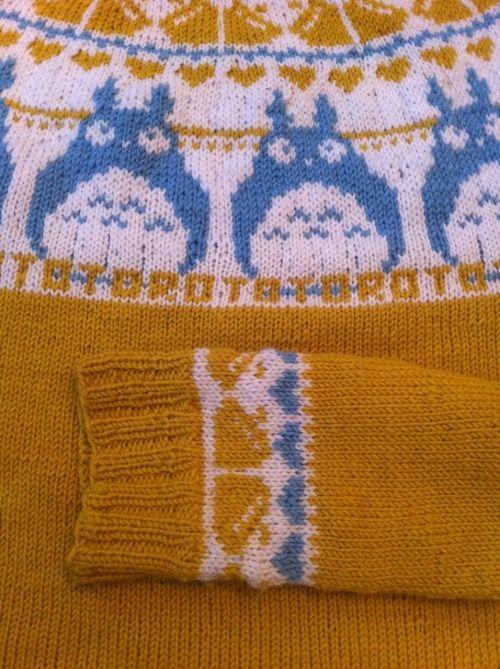 Totoro Sweater Ck Crochet Knit Pinterest Totoro