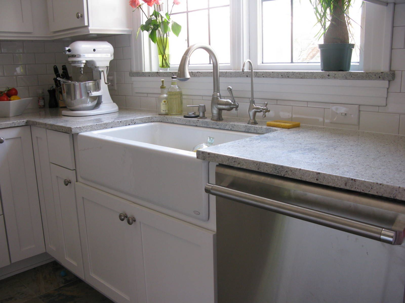 kitchens - White Kitchen Sink
