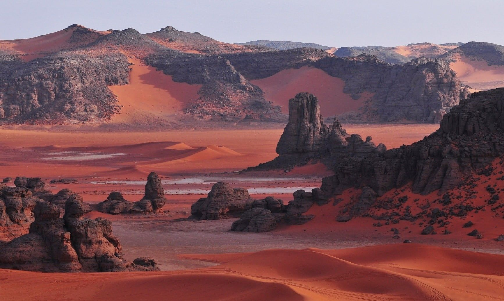 Grand Canyon Desert Sahara Algeria Dune Rock Mountains Red Nature Landscape 720p Wallpaper Hdwallpape National Parks Places To Visit Algeria Travel