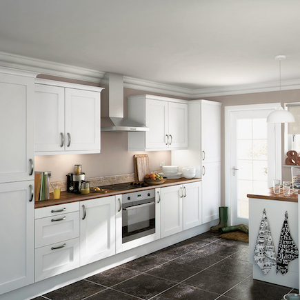 Homebase Simply Hygena Gloucester Shaker Kitchen Kitchen Compare Com Home Independent Kitchen Price Comparisons Kitchen Kitchen Prices Stylish Kitchen