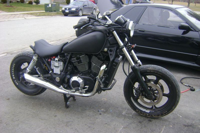 '87 Shadow Looks alright, but needs a small rear fender