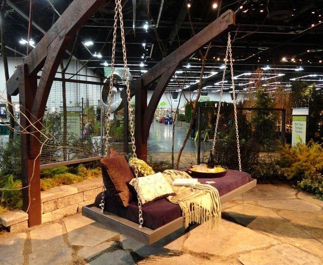 Sitzbank Für Den Garten garten möbel hängemöbel zum relaxen sitzbank garten schaukel ideen