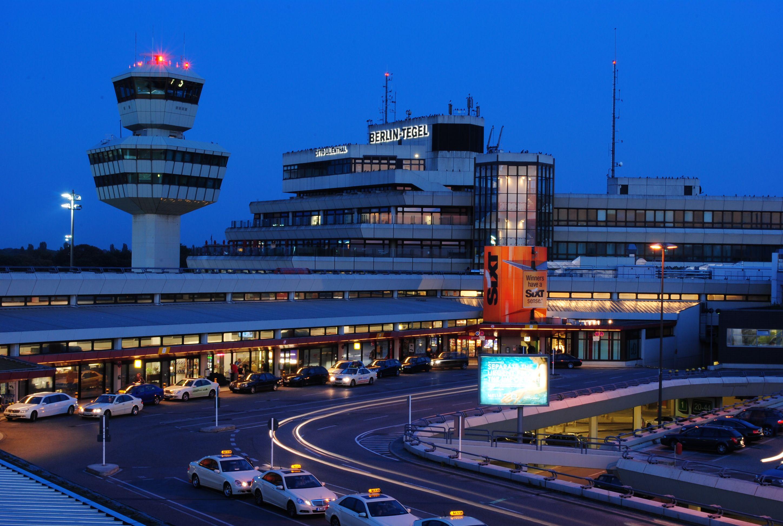Berlin Tegel Airport (IATA TXL, ICAO EDDT), Germany http