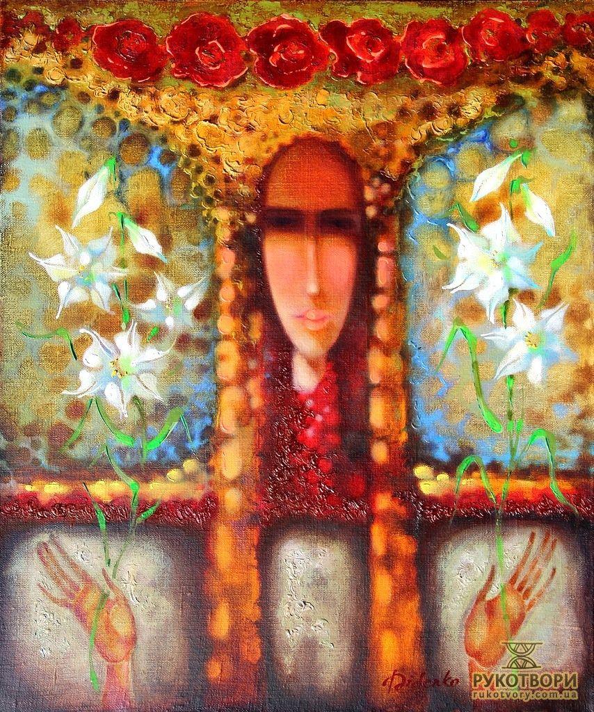 Выставки : Українська художниця присвячує свої картини ніжній силі жінок