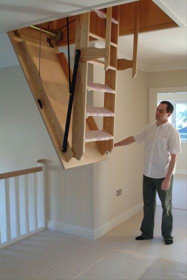 Electric Loft Ladders Loft Stairs Loft Ladder Staircase Design
